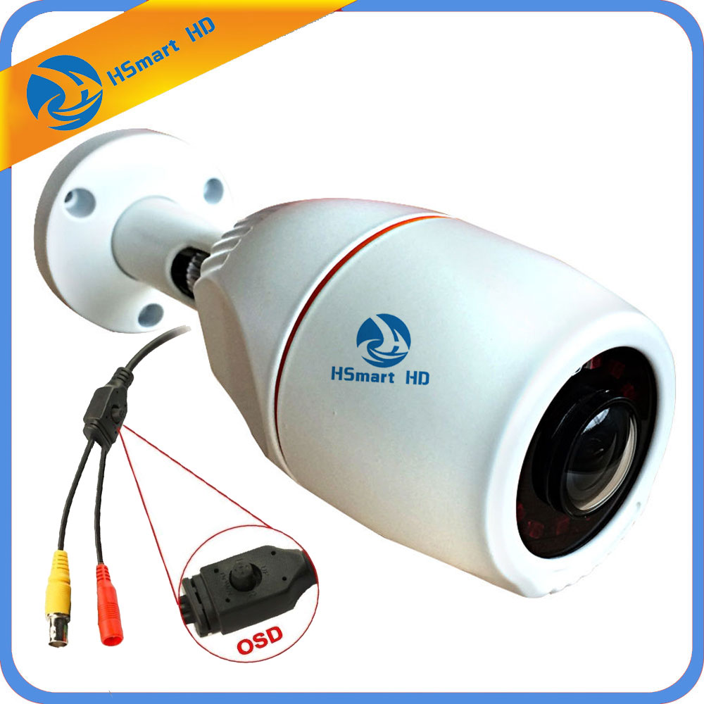 1080P Mini AHD Camera Sony IMX323 Video Surveillance Camera IR Night Vision Metal Case wide angle 4 IN 1 TVI CVI CCTV Cameras