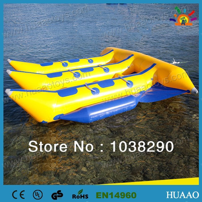 6 Person Inflatable Flyfish Boat Inflatable Boat(CE/UL pump and repair kit) 7 3 6m inflatable water slide with free ce pump and repair kit