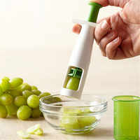 New Grips Grape Tomato and Cherry Slicer Kitchen Vegetable Fruit Cutter Tools Auxiliary Baby Food Kitchen Cooking Tools