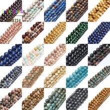 Natural Morganite Tiger Eye Garnet Stone Round Beads for Jewelry Making DIY Bracelet 15inches Strand 4mm 6mm 8mm 10mm 4mm natural garnet round beads bracelet fashion garnet jewelry bracelet
