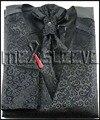 Новые приходят торжественная одежда жилет (жилет + ascot галстук + запонки + платок)