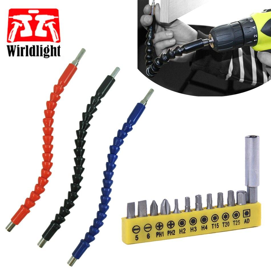 Flexible Schaft Bit Set Verlängerung Schraubendreher Bohrer Bits für