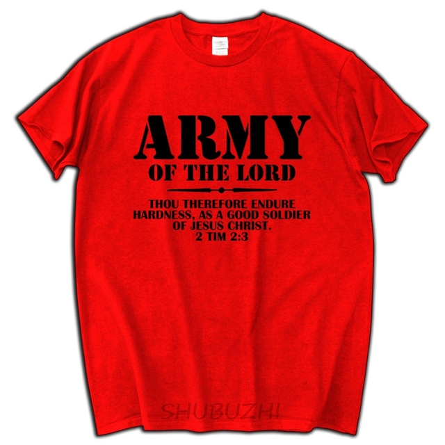 short sleeve valentine s christian army of the lord 2 timothy 23