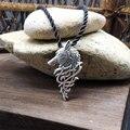 1 pcs hot vender viking homens lobo colar celta pingente de lobo