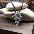 1pcs hot sell viking wolf men necklace celt wolf pendant