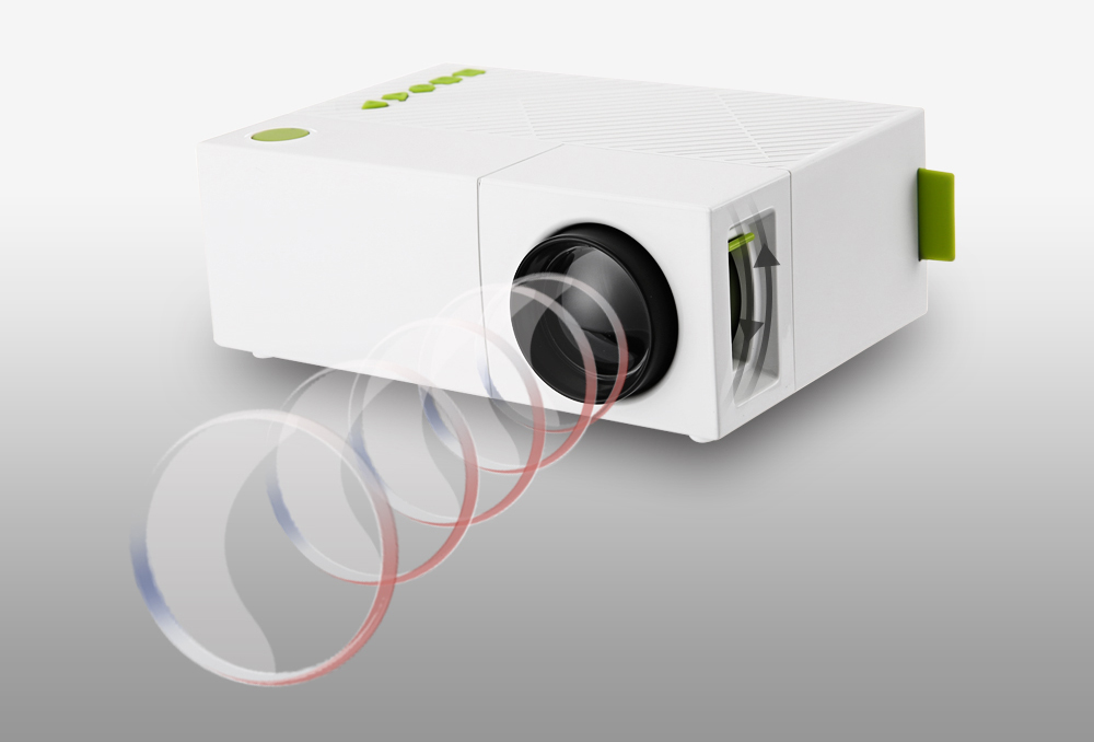 YG310 LCD LED Projector (19)