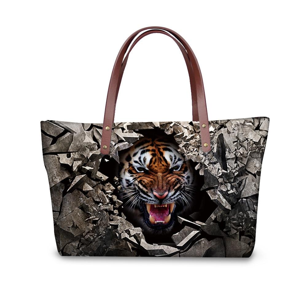 forudesigns tiger animal printed cool shop online handbags famous designer handbag women fashion. Black Bedroom Furniture Sets. Home Design Ideas