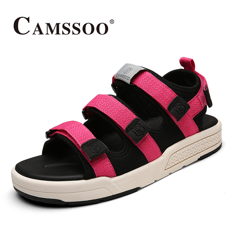2017 Camssoo Womens Beach Shoes Outdoor Water Shoes Light Weight Aqua Shoes Summer Sandals For Female Free Shipping 6130 2017 clorts womens water shoes summer outdoor beach shoes quick dry breathable aqua shoes for female green free shipping wt 24a
