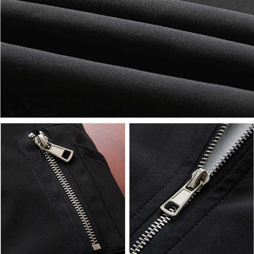 2020 sonbahar marka yeni siyah havacılık bombacı ceket erkekler Streetwear Slim Fit Pilot bombacı ceket kaban erkekler ceketler artı boyutu 4XL