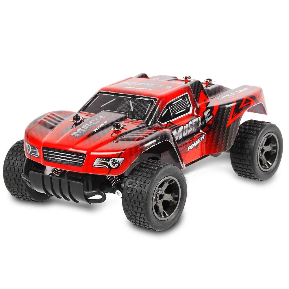 Alta Spped RC Auto 2.4 GHz 1:18 RC Auto RTR Ammortizzatore PVC Shell Off-road Race Veicolo Buggy Elettronico di Controllo Remoto Auto Giocattolo