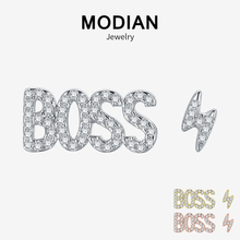 Modian Hot Sale New 925 Sterling Silver Gold & Rose Color Le