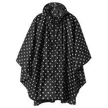 Yuding Women Rain Poncho Hooded Coat with Pockets Outdoors Raincoat Impremiable  Abrigo Mujer