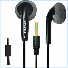 Original Design Awei ES10 1.2m Cable Length In-ear Earphone for Mobile Phone Tablet PC  Noise Isolating Hi-definition Technology