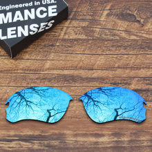c44f451127 ToughAsNails Resist Seawater Corrosion Polarized Replacement Lenses for Oakley  Flak Draft Sunglasses Blue Mirrored