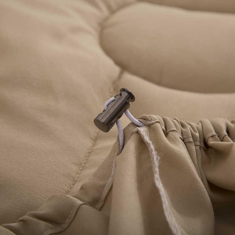 1 шт. 100% полиэстер волокно простыня по размеру матраса крышка четыре угла с эластичной лентой простыня 61