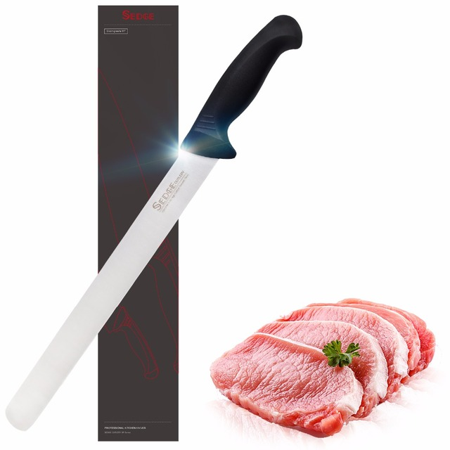 Sedge Slicing Carving Knife – SP Series – German 1.4116 High Carbon Stainless Steel Kitchen Knife – Ergonomic Handle – 11""