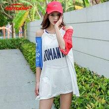 Two-piece Sports Swimsuit Woman Korean Fashion Bikini Flat-angle Conservative  Swimwear Bathing Suits