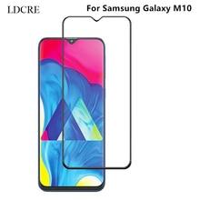 1PCS Full Glue Coverage Screen Protector for Samsung Galaxy M10 Glass Flim