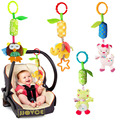 1PC Baby Toys 4 Design Rattle Hand Bell Multifunctional Plush Baby Toy Stroller Mobile Gifts