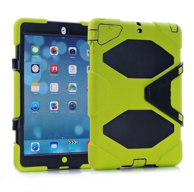 Para a apple pad air 2 caso à prova de choque shell proteção fique tablet capa para apple pad mini 3