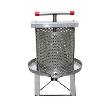 Stainless Steel Honey Extractor Bee Wax Press Machine Mesh Beekeeping Equipment Beeswax Presser Beekeeper Supplies