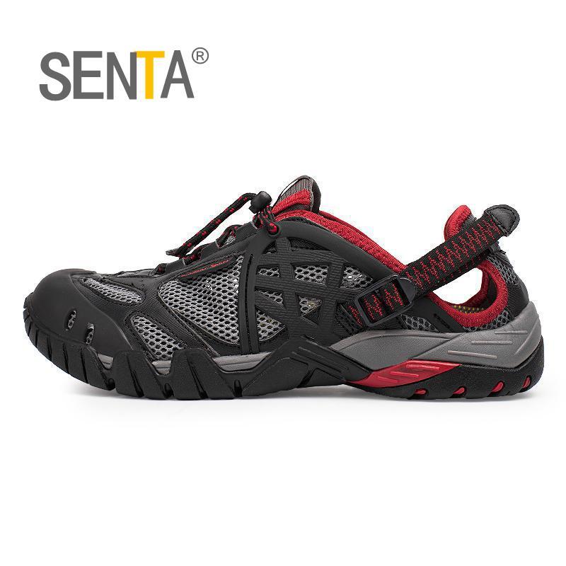 Ανδρικά υπαίθρια πάνινα παπούτσια αναπνεύσιμα παπούτσια πεζοπορίας μεγάλο μέγεθος άνδρες γυναίκες υπαίθρια πεζοπορία σανδάλια άντρες πεζοπορία μονοπάτι παπούτσια νερό μεγάλο μέγεθος