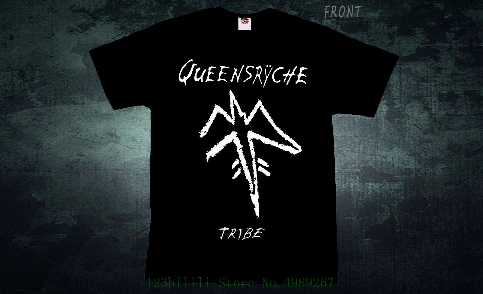 Queensryche - Tribe - Heavy Metal - Crimson Glory - <font><b>Ratt</b></font> , <font><b>T</b></font> _ <font><b>Shirt</b></font> , Sizes : S To 6xl 2019 Latest <font><b>Men</b></font> <font><b>T</b></font> <font><b>Shirt</b></font> Fashion image