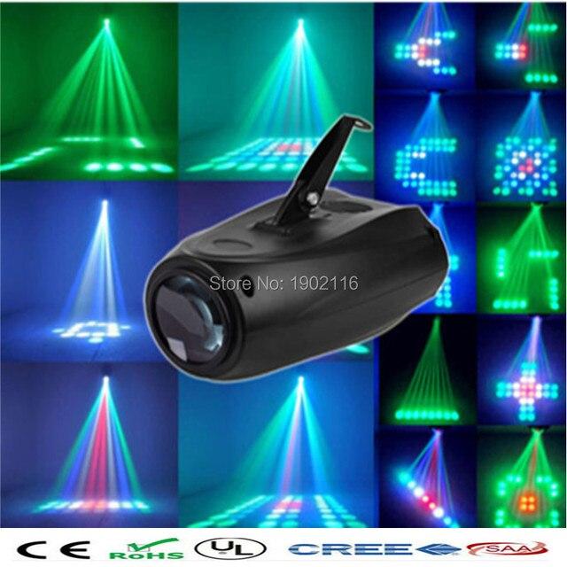 Лучшее качество Авто/Звук Активированного 64 Светодиодов RGBW LED Стадии Луч огни на Рождество Партии Диско-Бар Клуб Свадебный DJ led лампы