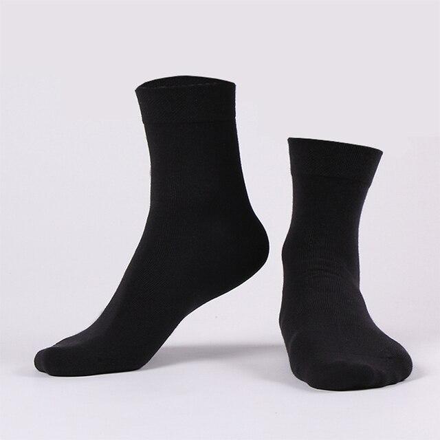 5pairs / lot Men Quality Cotton Socks Brand New Casual Business Autumn Winter Black Socks Deodorant Breatheable Man Long Sock Socks