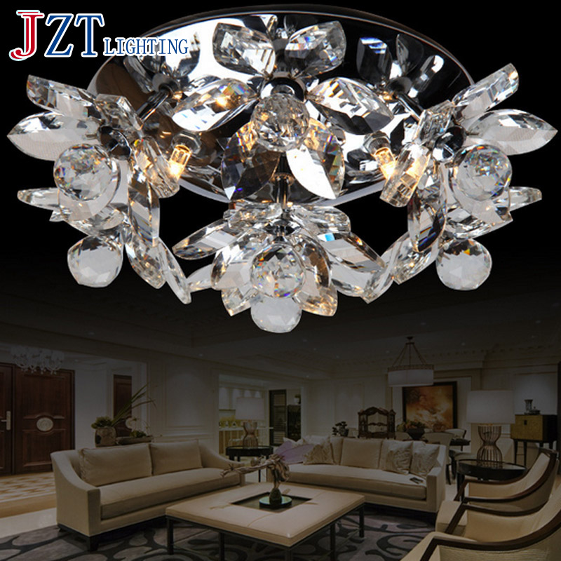 J Best Price Modern lighting lamps Led circle lamp crystal absorb dome light brightness ceiling light crystal chandelier best price 5pin cable for outdoor printer