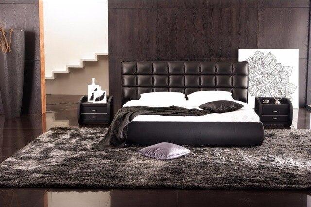 Hihg testiera plaid moderno letto King size mobili camera da letto ...