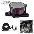 AC-006-BK Motorcycle Aluminum Air Cleaner Intake Filter For Harley Sportster XL 883 1200 2004-2015