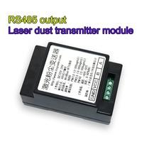 1PC Electronic Dust Sensor RS485 Output PM2.5 PM10 Laser Dust Transmitter Concentration Detection
