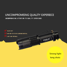 Powerful Led Flashlight XM-L Q5 450Lumens Cree led Torch Zoomable Cree Waterproof LED Flashlight Torch Light