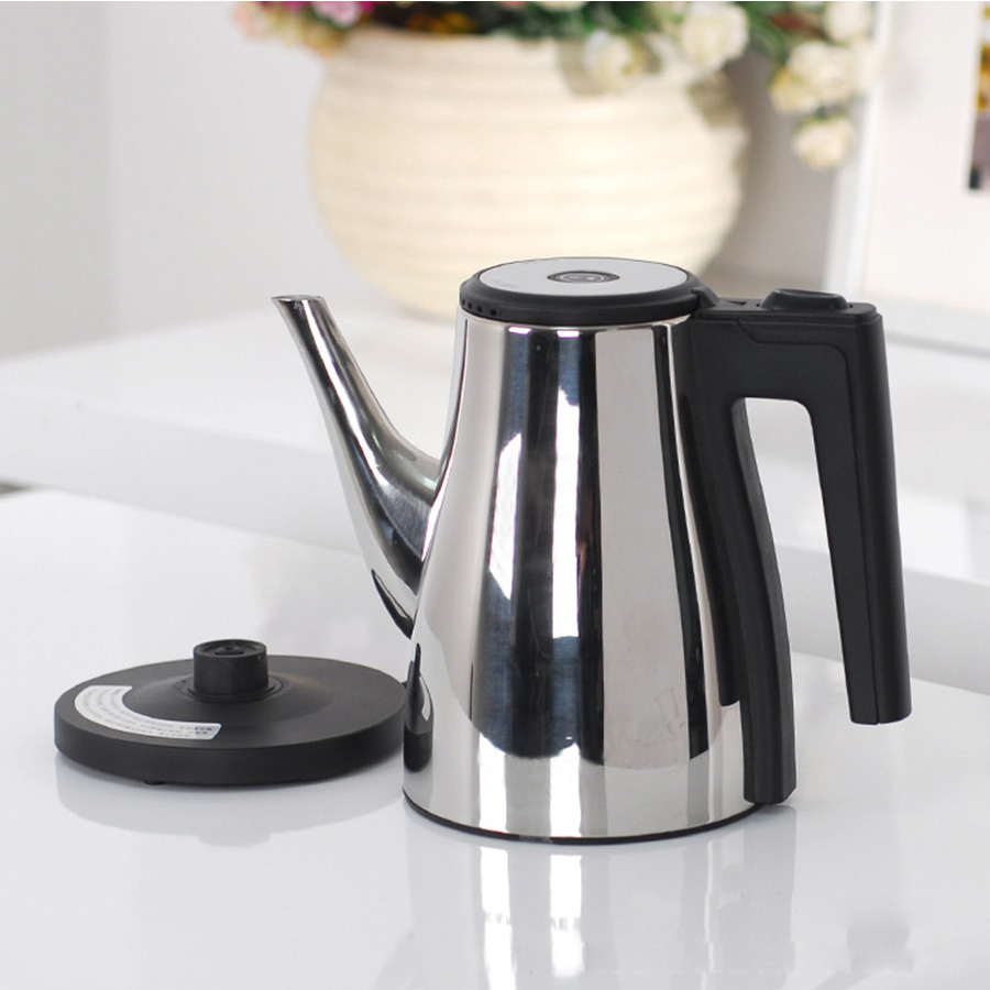 Electric Water Kettle Stainless Steel Teapot Coffee Pot Quick instant Heating Boiling Pot Zipper Household Kettles Appliance cukyi stainless steel 1800w electric kettle household 2l safety auto off function quick heating red gold