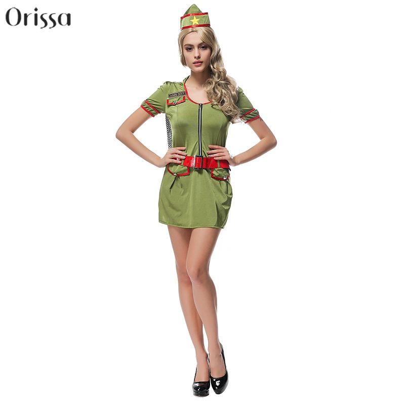 women sexy halloween costumes sexy soldier costume sexy army costumeschina - Halloween Army Costumes