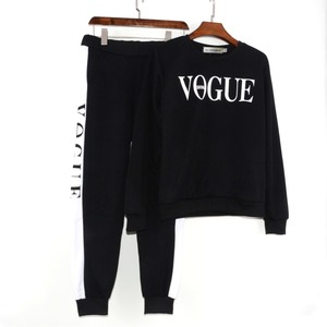 Image 2 - Xuancool Nieuwe 2020 Vrouwen 2 Stuk Kleding Set Casual Mode Vogue Sweater + Lange Broek Trainingspak Voor Vrouwen Hoodie Pak