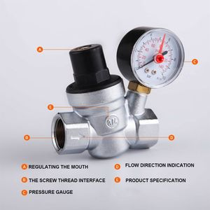 DN15/20 Water Pressure Reducin