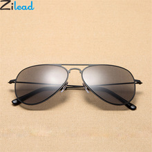 Zilead Retro Square Reading Glasses Sunglasses Metal Women&Men Presbyopic Eyewear Wite Diopters +1.0to+3.5