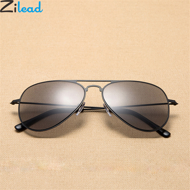 Zilead Retro Square Reading Glasses Sunglasses Metal Women&Men Presbyopic Glasses Eyewear Wite Diopters Presbyopic +1.0to+3.5