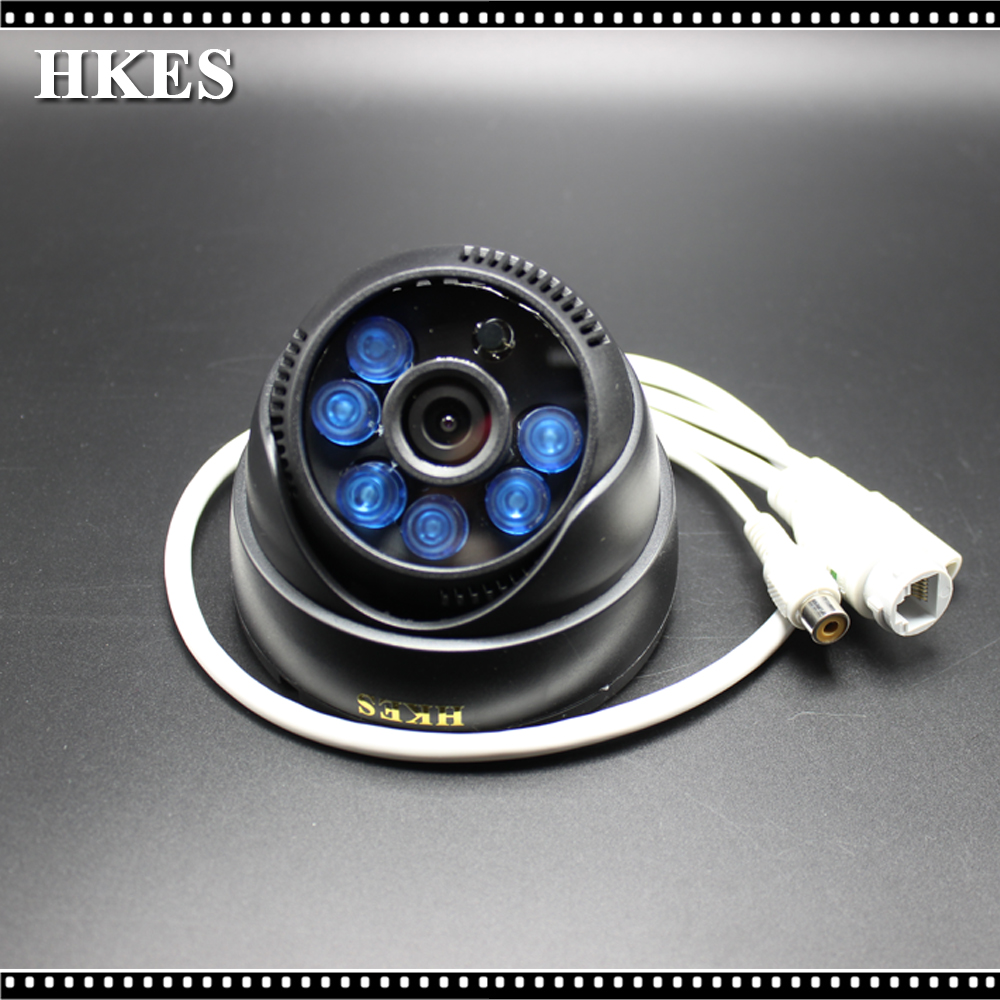 HKES 4pcs/lot Mini HD IP Camera Audio 720P IR-Cut Night Vision Surveillance Onvif Network CCTV Security Camera 1MP