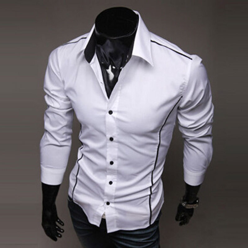 Aliexpress.com : Buy 2015 Autumn Mens Shirt Fashion Brand Cotton ...