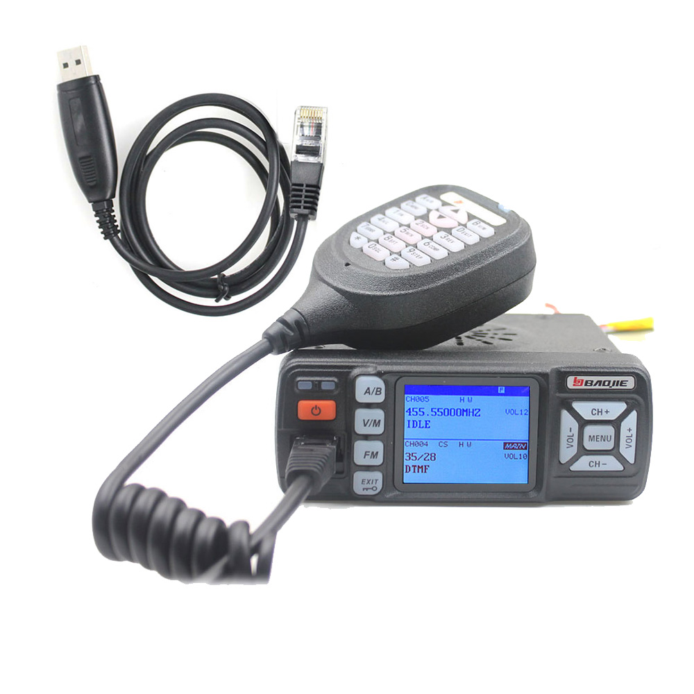 BAOJIE BJ 218 Upgrade vision Walkie Talkie BJ 318 25W Dual Band 136 174 400 490MHz