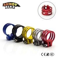 Ultra Light 26g 31 7mm 34 9mm 37mm Auminum Alloy Seatpost Clamp BMX Bikes Cheap MTB