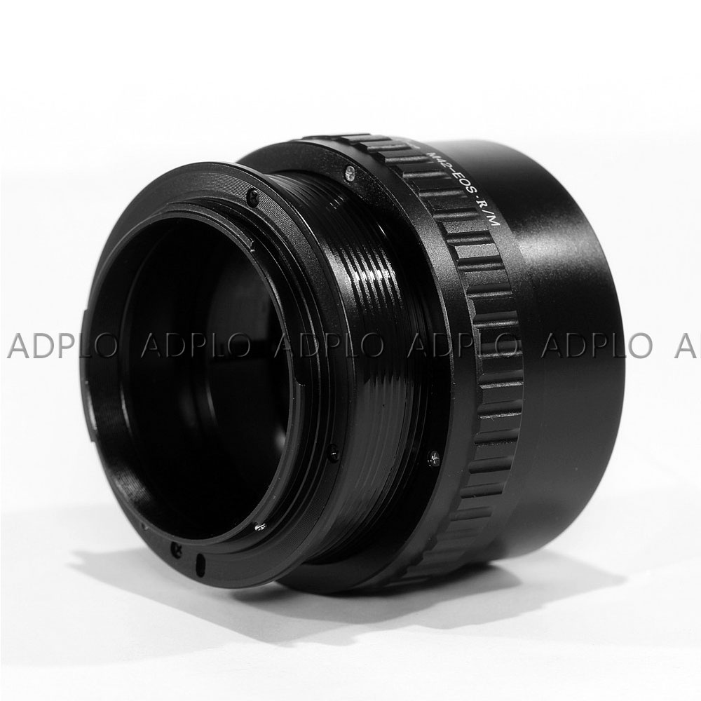 Pixco pour M42-EOS.R adaptateur objectif réglable Macro à l'infini pour caméra M42 à monture Canon EOS R - 3