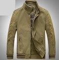 Chaqueta de los hombres capa de la chaqueta de algodón Puro de alta calidad hombre jaqueta primavera chaquetas abrigos para hombre abrigo