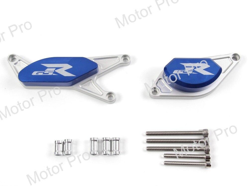 Двигатели для автомобиля ползунок протекторы для Suzuki gsx-r 600 2006 2007 2008 2009 2010 2011 2012 GSX R 600 Защита от падения для мотоциклов Защитный GSXR600
