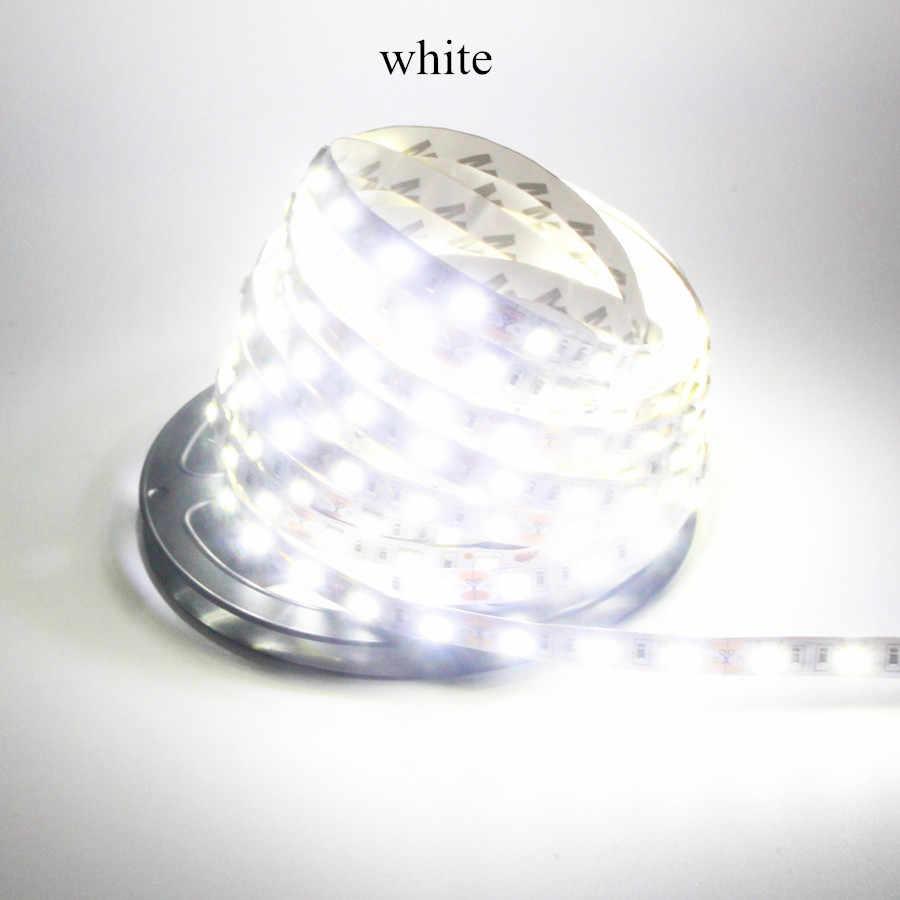 LED Strip Ánh Sáng 5050 DC12V 60 LEDs/m 5 m/Cuộn Linh Hoạt LED Ánh Sáng RGB 5050 LED Strip không thấm nước Hoặc Không-Băng Không Thấm Nước Fita