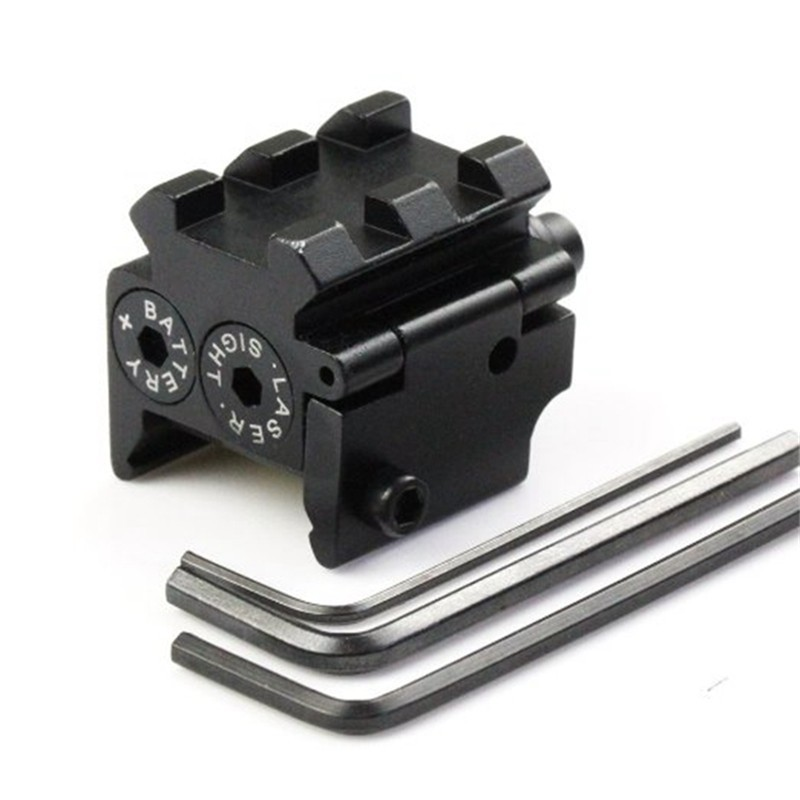 650nm 300m Mini High quality Tactical Red Dot Laser sight Scope 28x26mm 20mm Rail Mount Compact