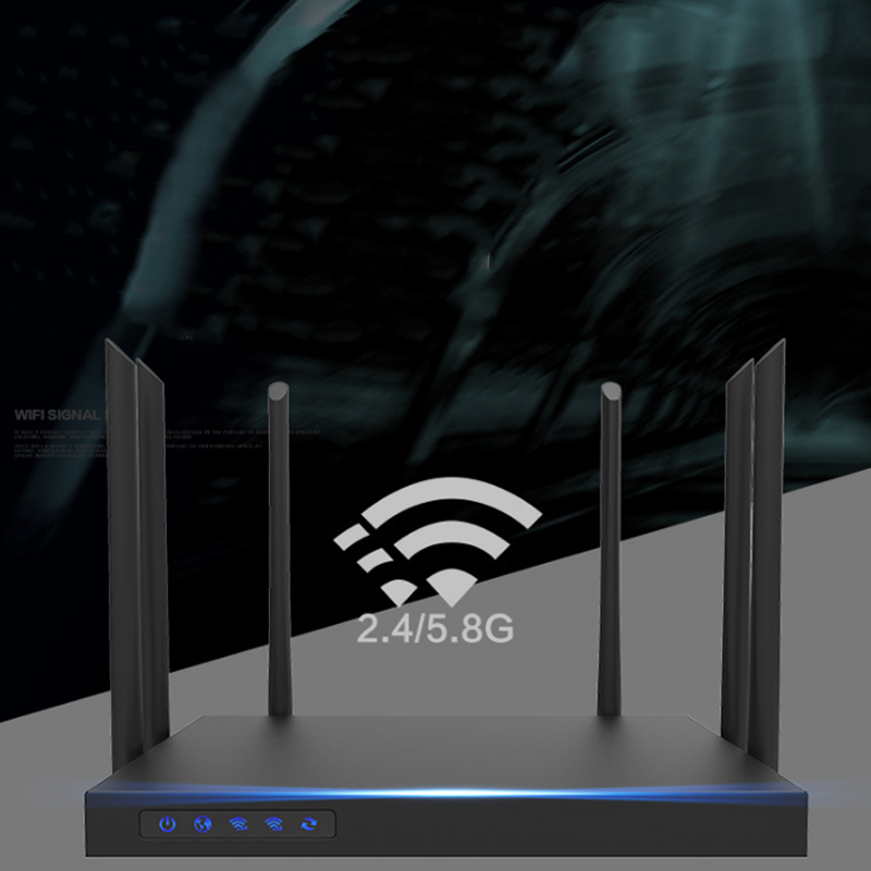 1750mpbs Wifi Router Dual Band Wide Coverage High Power With Antenna Router Sl@88 Last Style